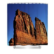 Courthouse Towers Shower Curtain