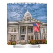 Courthouse2 Shower Curtain