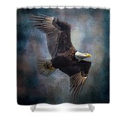 Courtship Ascent Shower Curtain