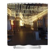 Courtside Lounge Shower Curtain