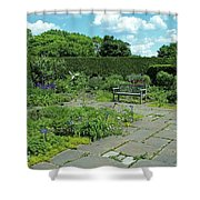 Courtyard Afternoon Shower Curtain
