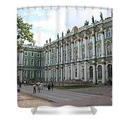Courtyard Eremitage - Saint Petersburg Shower Curtain