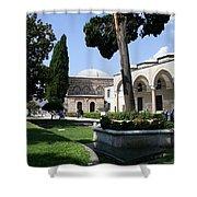 Courtyard Topkapi Palace - Istanbul Shower Curtain
