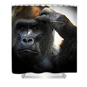 Cousin, No. 35 Shower Curtain