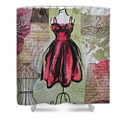 Couture I Shower Curtain