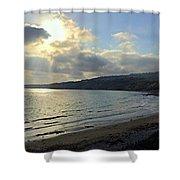 Cove Sunlight Shower Curtain