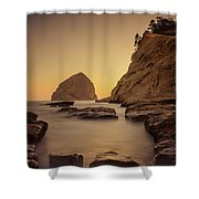 Cove Sunset Shower Curtain