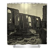 Covehithe Abbey Shower Curtain