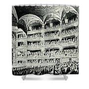 Covent Garden Theatre, 1795 Shower Curtain