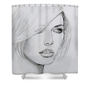 Cover Girl Shower Curtain