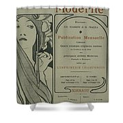 Cover Page From Lestampe Moderne Shower Curtain