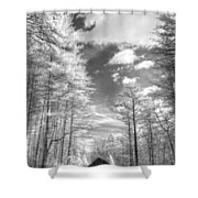 Covered Bridge Dupont North Carolina Shower Curtain