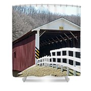 Covered Bridge Pa Shower Curtain