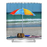 Covered Shower Curtain