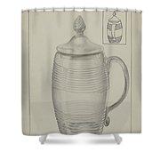 Covered Mug Shower Curtain