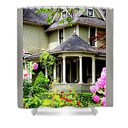 Covered Porch Shower Curtain