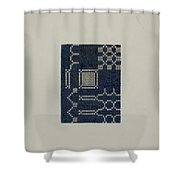Coverlet (section Of) Shower Curtain