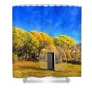 Covington Park Transport Shower Curtain