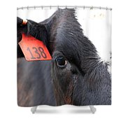 Cow 138 Shower Curtain
