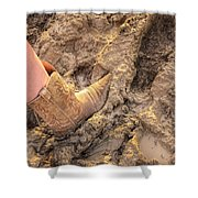 Cow Girl Rodeo  Shower Curtain