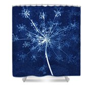 Cow Parsley Shower Curtain