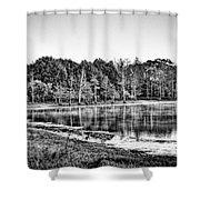 Cow Pen Lake Shower Curtain