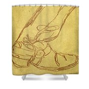 Cowboy Boot Shower Curtain