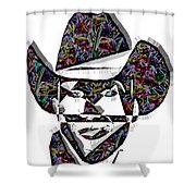 Cowboy Colorful 47 Shower Curtain