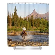 Cowboy Country Shower Curtain