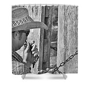 Cowboy Life Shower Curtain