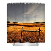 Cowboy Trail Shower Curtain