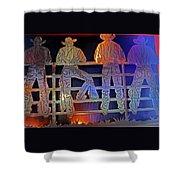 Cowboys 1 Shower Curtain