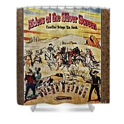 Cowboys And Knives Shower Curtain