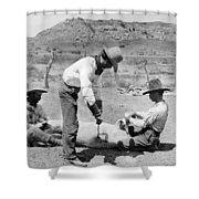 Cowboys: Branding Cattle Shower Curtain