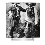 Cowboys, C1900 Shower Curtain