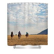 Cowboys On The Open Range Shower Curtain