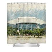 Cowboys Stadium Shower Curtain