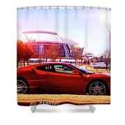 Cowboys Stadium V2 Shower Curtain