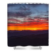 Cowee Sunset Shower Curtain