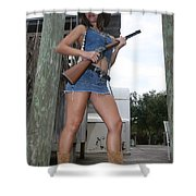 Cowgirl 022 Shower Curtain