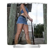 Cowgirl 023 Shower Curtain