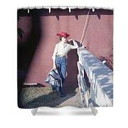 Cowgirl Mama Shower Curtain