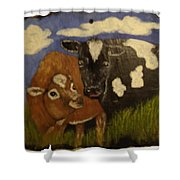 Cow's Shower Curtain