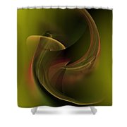Coy In Pond Shower Curtain