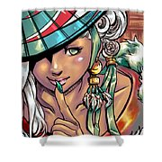 Coy Shower Curtain