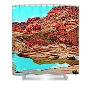Coyote Butte Shower Curtain