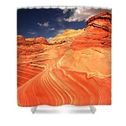 Coyote Buttes Sandstone Towers Shower Curtain