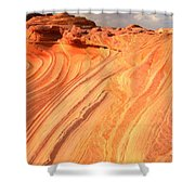 Coyote Buttes Sunset Glow Shower Curtain