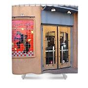 Coyote Cafe Santa Fe Shower Curtain