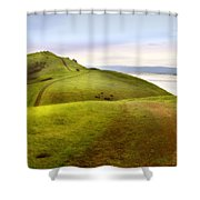 Coyote Hills Shower Curtain